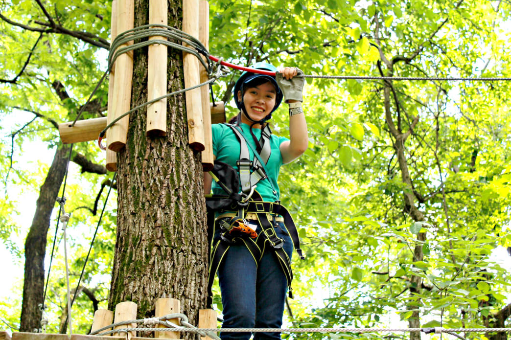 River Riders also offers ziplining.     Matt Knott