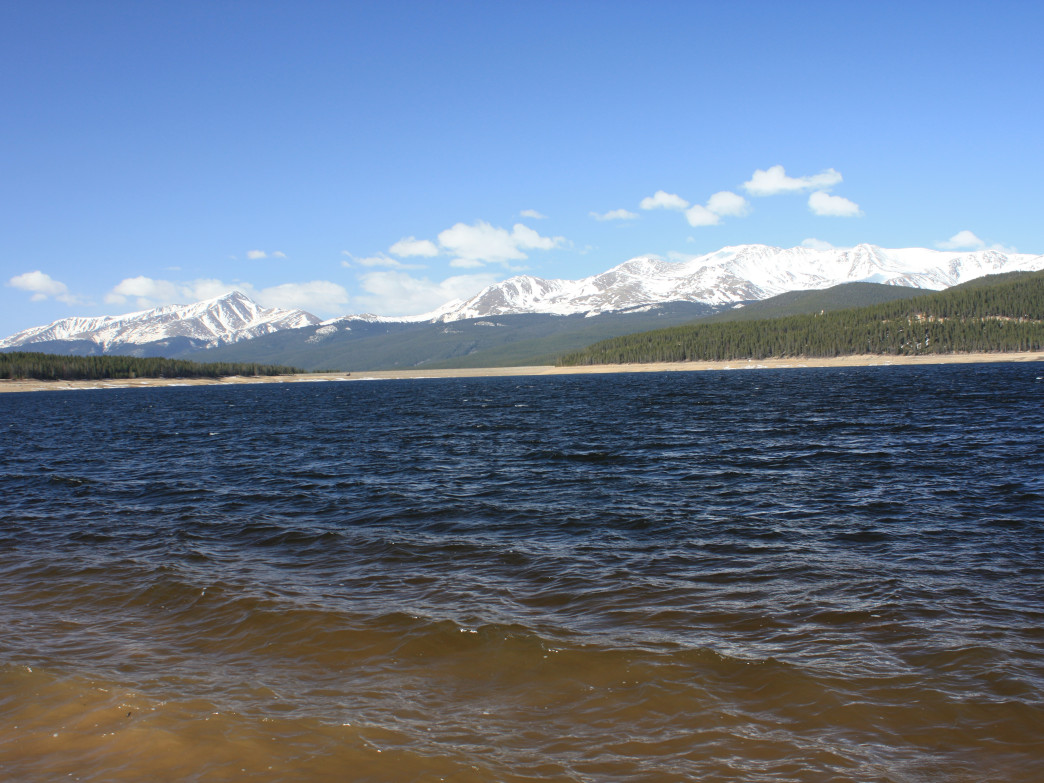 Turquoise Lake, Leadville, Colorado.