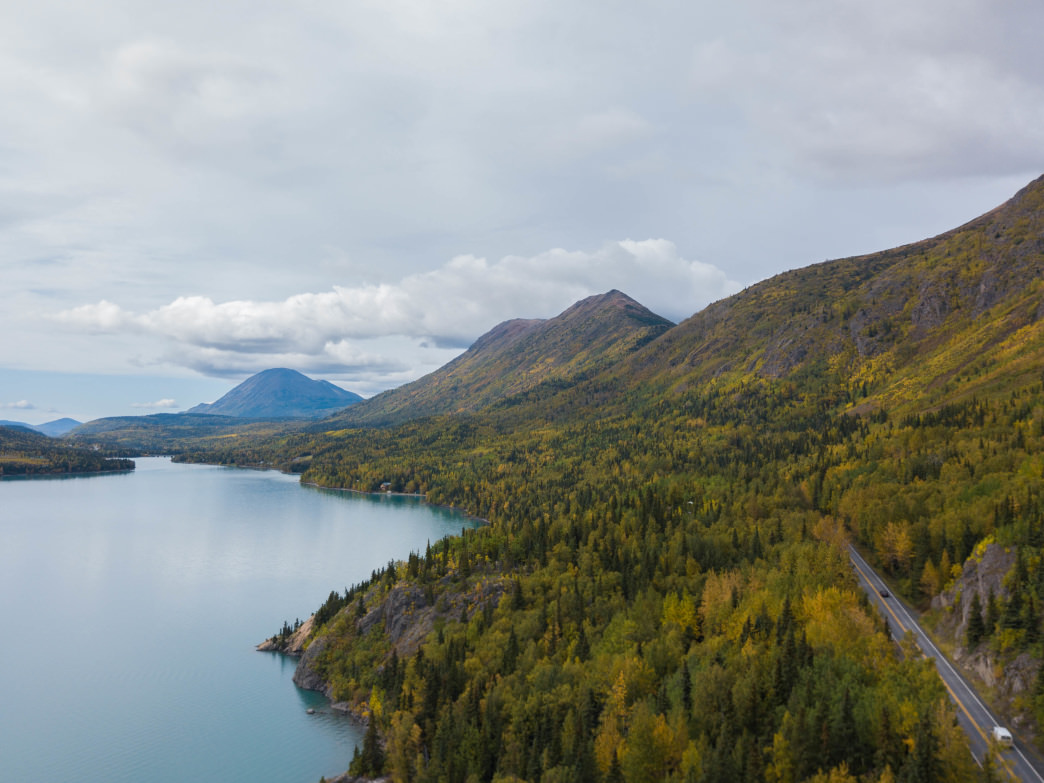 Hitting the open road in Alaska is a great way to take in the beauty of the Last Frontier.
