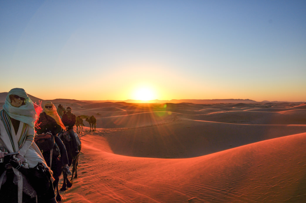 The majestic Sahara Desert.     Julia Rogers