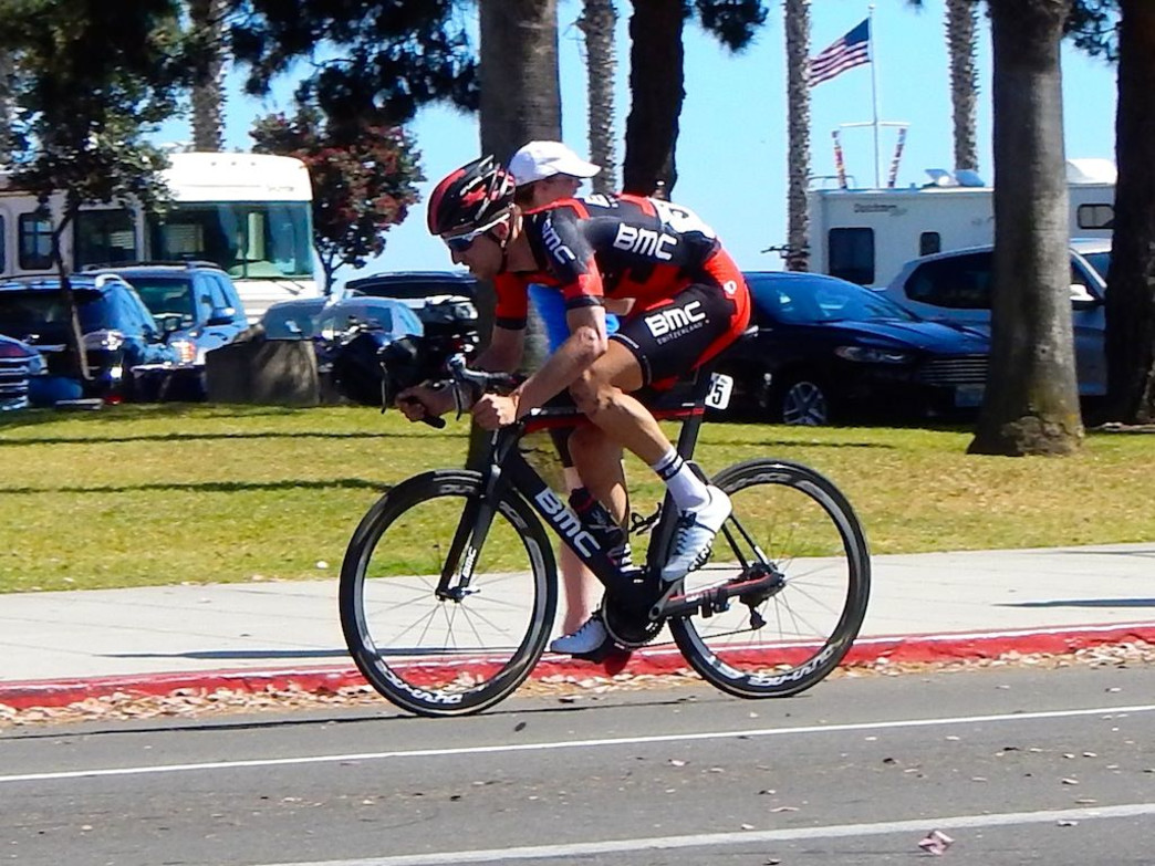 The winner of this year's Amgen Tour, Taylor Phinney