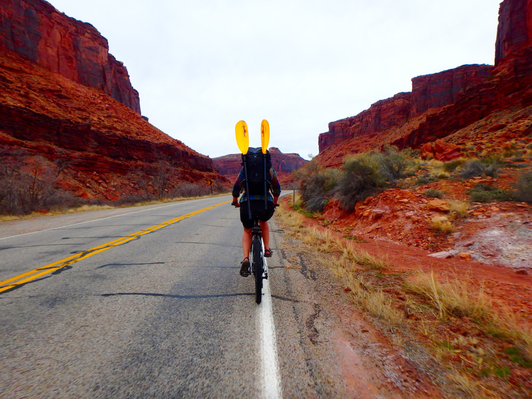 Moab makes it easy to tackle three (or more) sports in a day.     Emma Walker