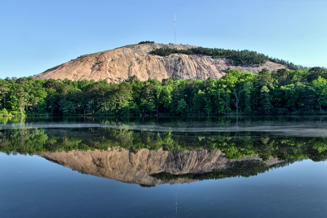 Stone Mountain Park (east of Atlanta in Stone Mountain)