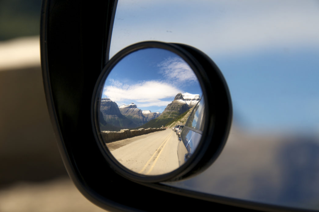 Going-to-the-Sun Road, Glacier National Park, Montana.