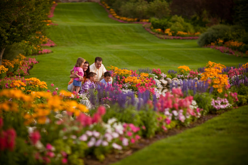 Thanksgiving Point features manicured gardens, interactive exhibits and a working farm to explore.