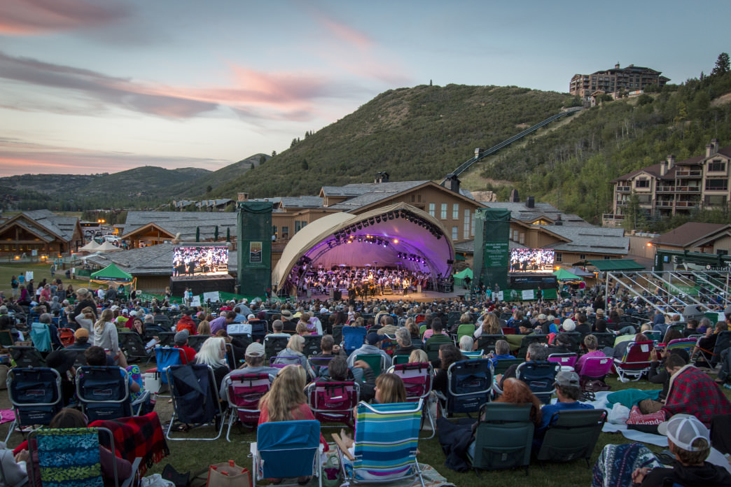 The Utah Symphony and Opera hosts a summer concert series at Deer Valley.