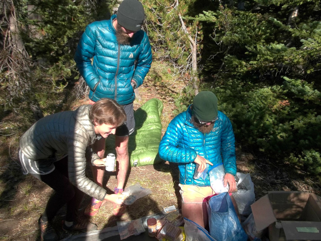 Lunch in the backcountry doesn't have to be—and probably shouldn't be—too heavy. Snacks are the way to go.