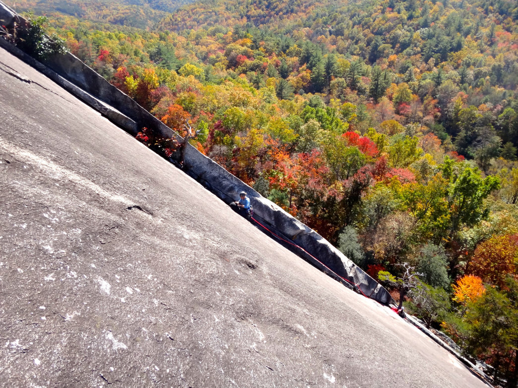 Cooler months are ideal for maximum friction at Stone Mountain.