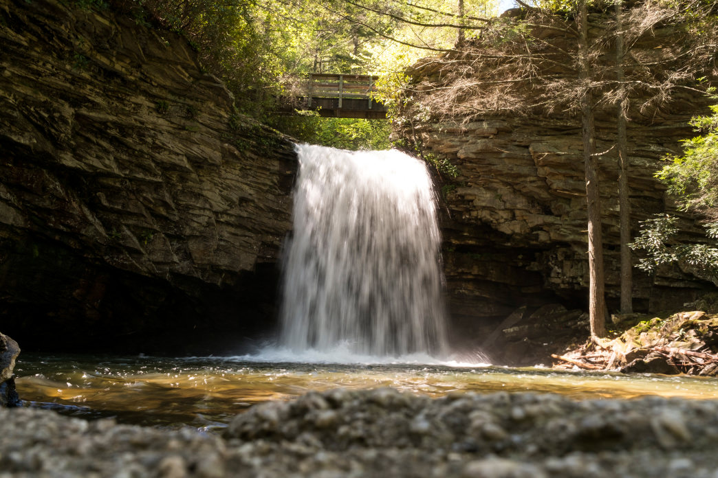 A hike to Stony Falls is one of the most scenic in the region.