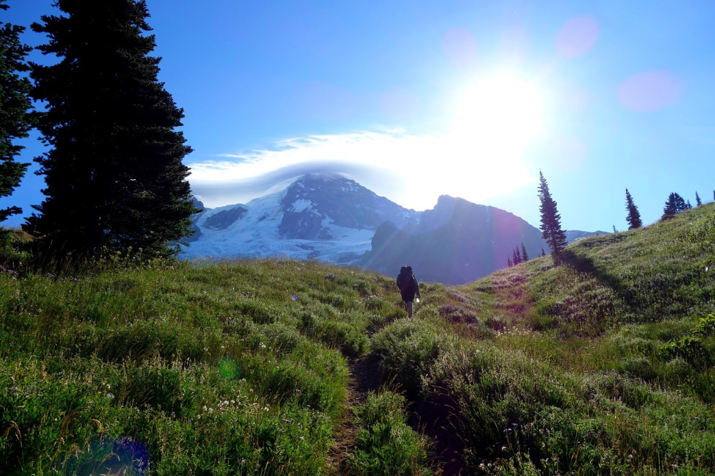 Encircling Mount Rainier for 93-miles, the Wonderland Trail thru-hikes is worthy of any backpacker's bucket list