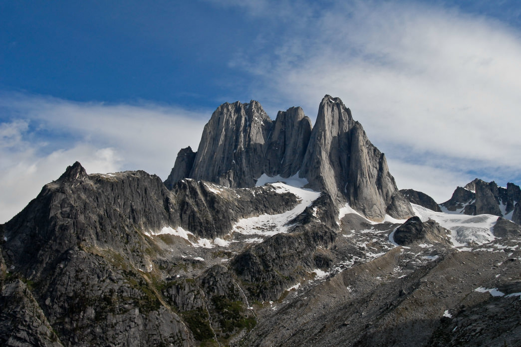 The Bugaboos in Alberta are a mecca for outdoor adventurers.