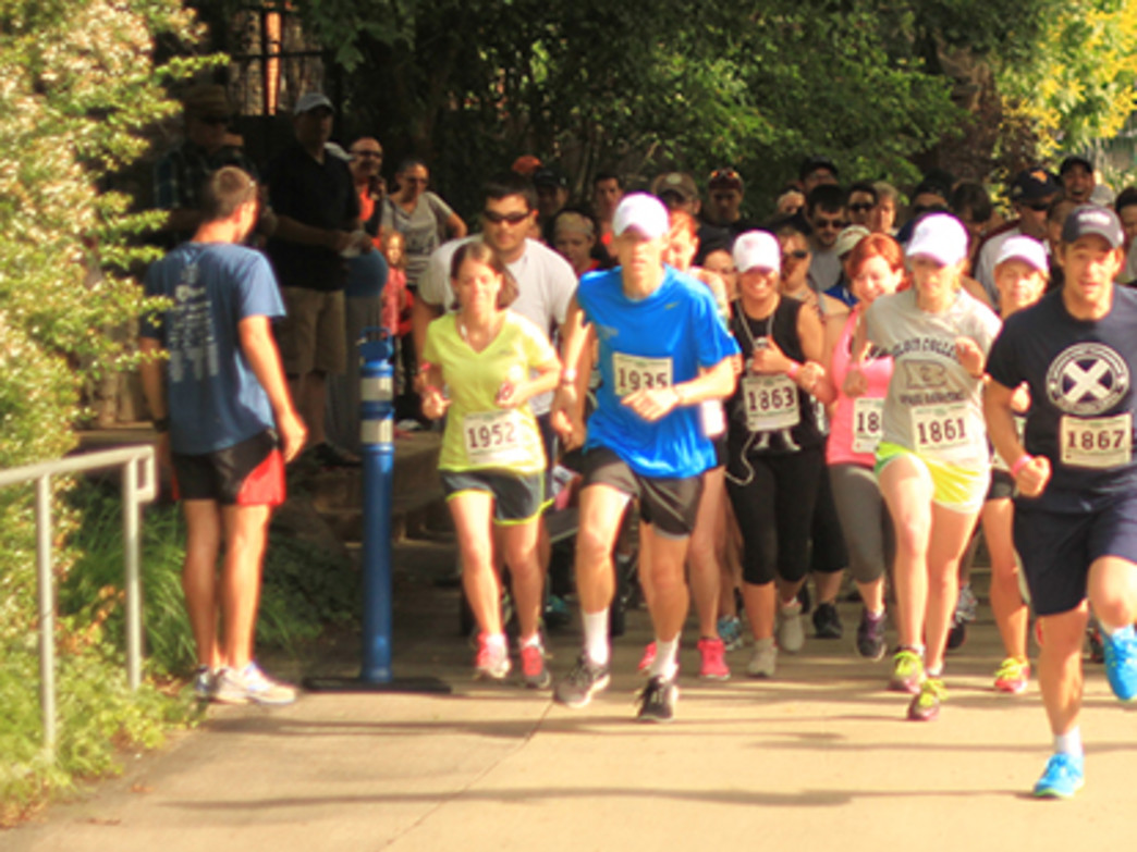 The Red, White, and Zoo 5K features a course that twists and turns through America's first zoo.