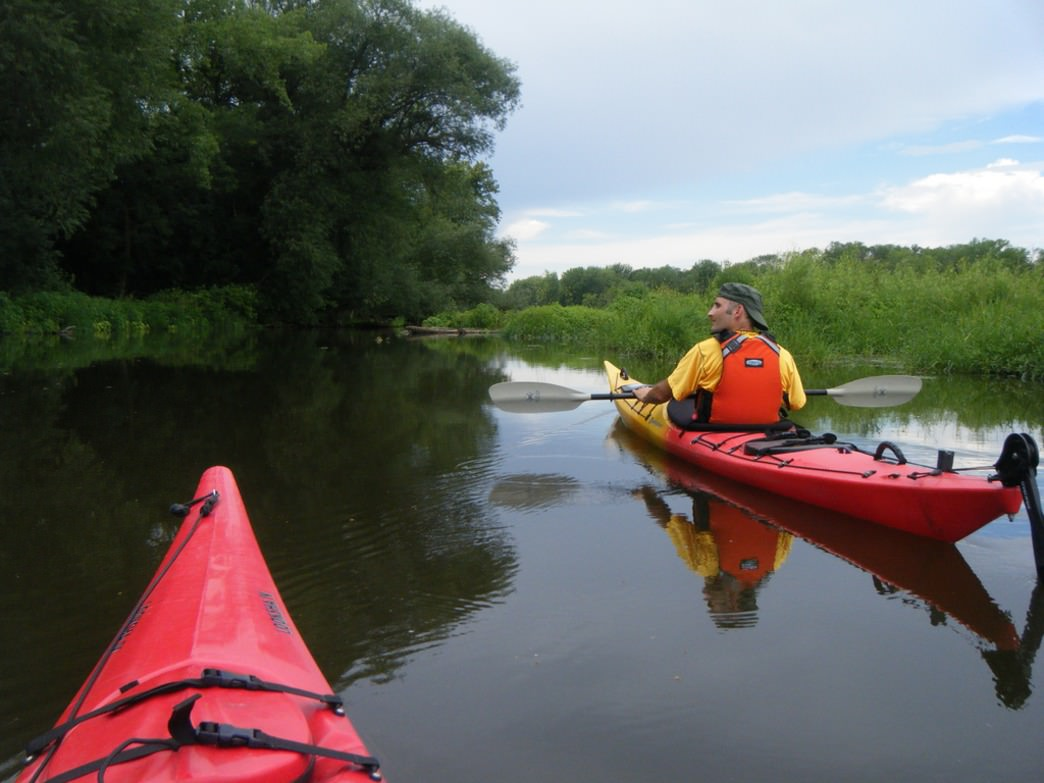 The Top  Paddling Routes In The Twin Cities - Los angeles river kayak map