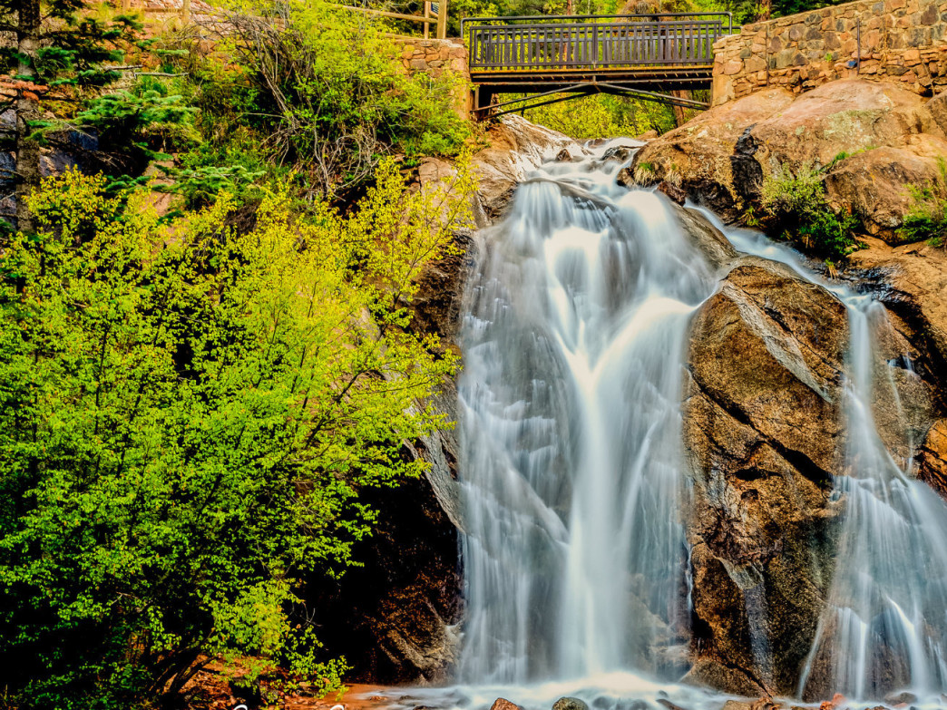The beautiful Helen Hunt Falls benefit as part of Cheyenne Cañon Pinon Nut Ale sales.