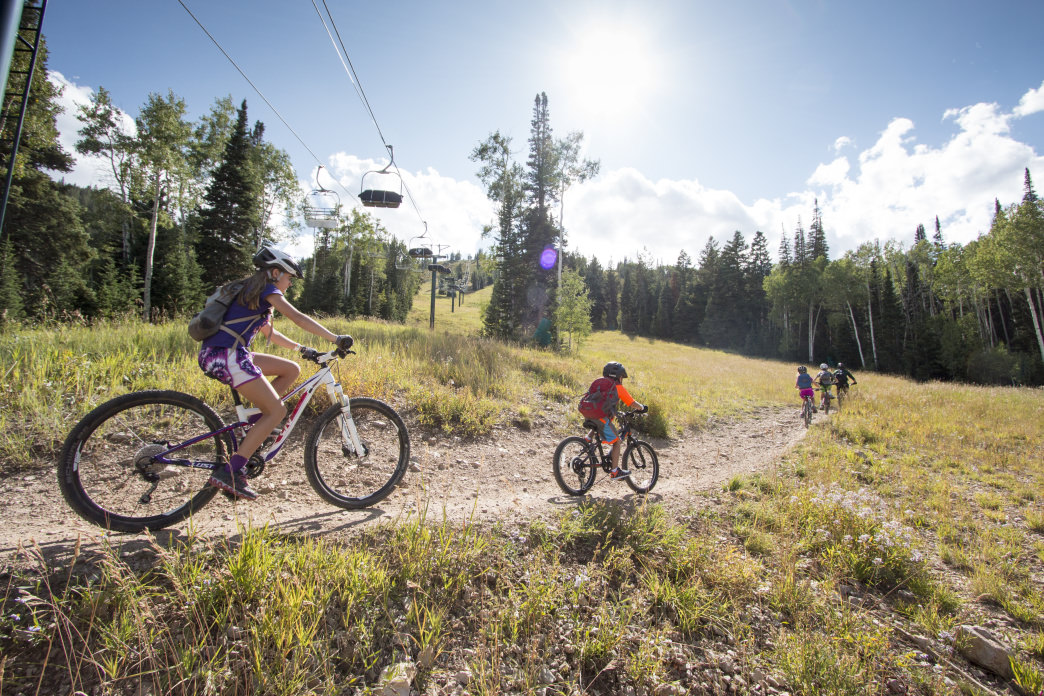The Mountain Bike School will have your kids happily crushing the trails in no time.