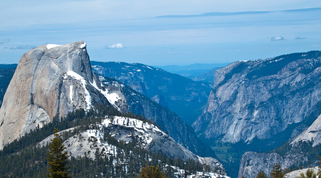 The view of Half Dome from Cloud's Rest is one of the best in Yosemite.