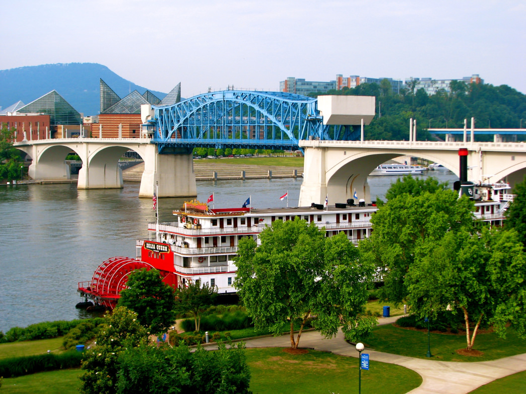Chattanooga, Tennessee Riverfront.