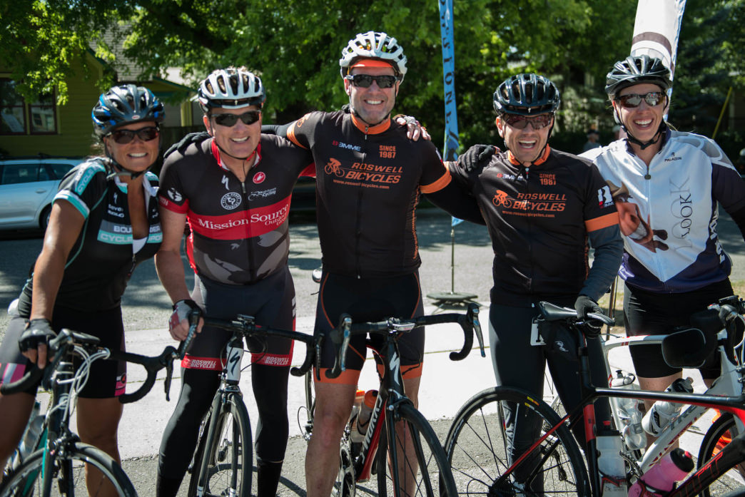 The ride is a great way to connect with friends and meet new people along the way.     Rick Smith Media for Cycle Greater Yellowstone