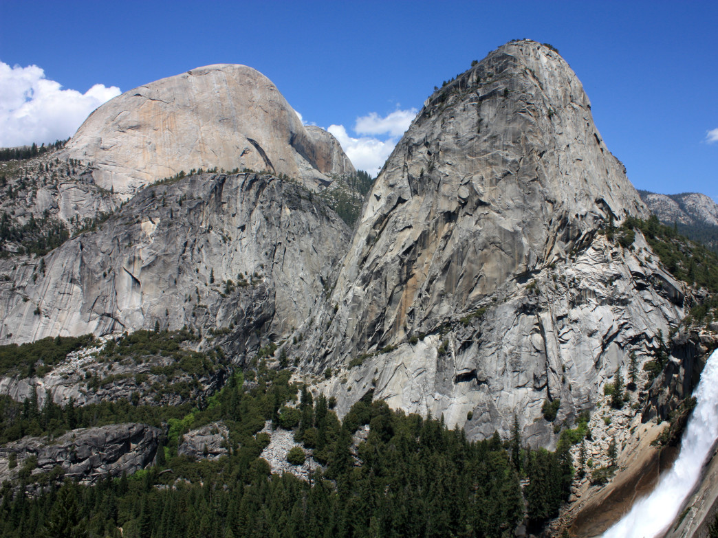 Views from the John Muir Trail.