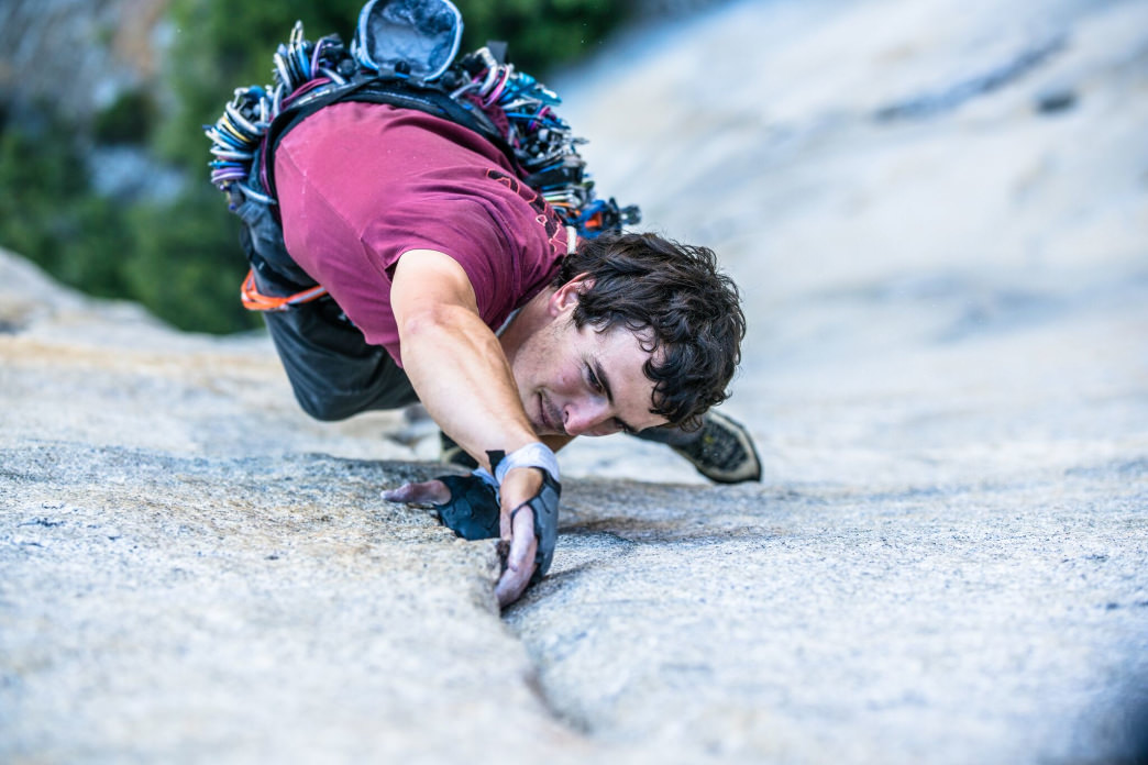 Brad Gobright loves that climbing is both a physical and mental challenge. Cheyne Lempe