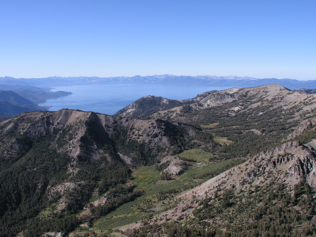 Mt. Rose is the highest peak on the Nevada side of Lake Tahoe.