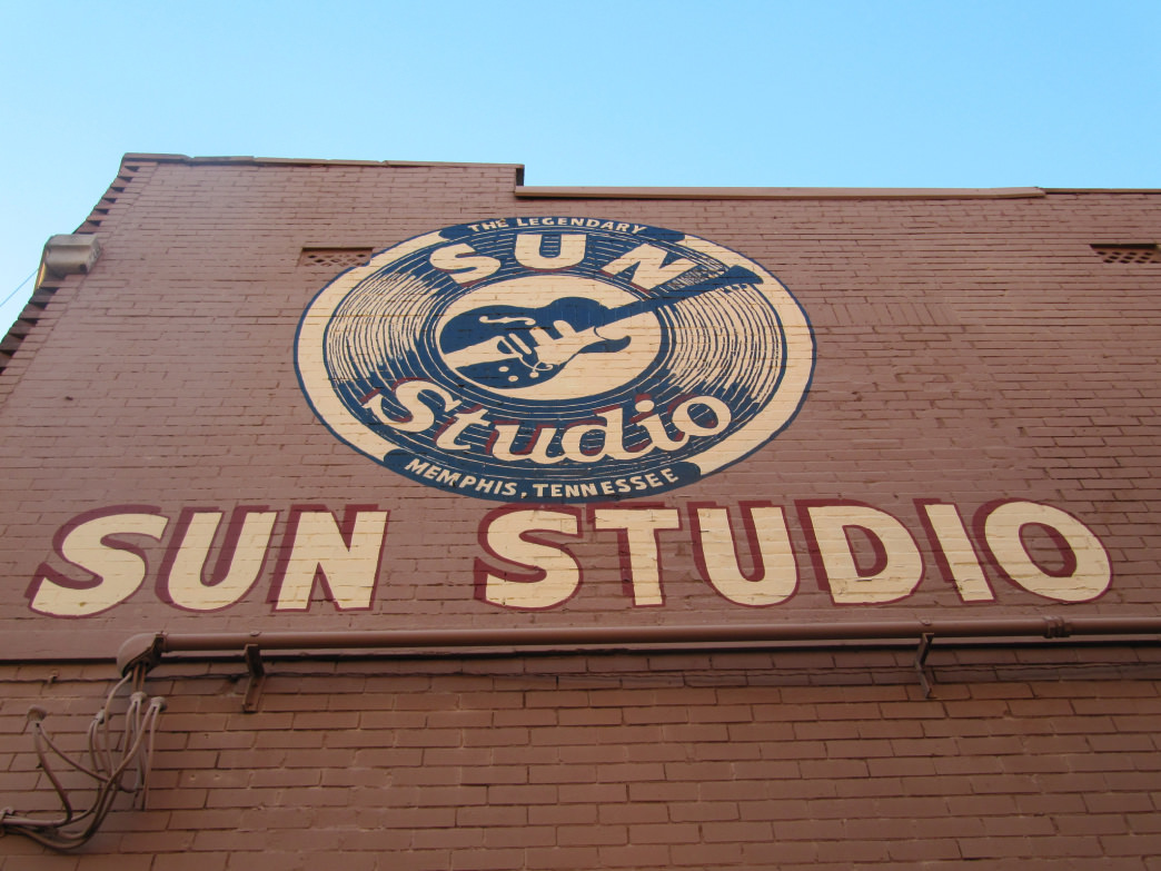 Many famous artists recorded at Sun Studio, from B.B. King to Johnny Cash.