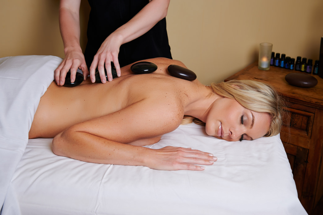 A hot stone massage at Keystone Spa is sure to relax those sore muscles after a long day. © Vail Resorts