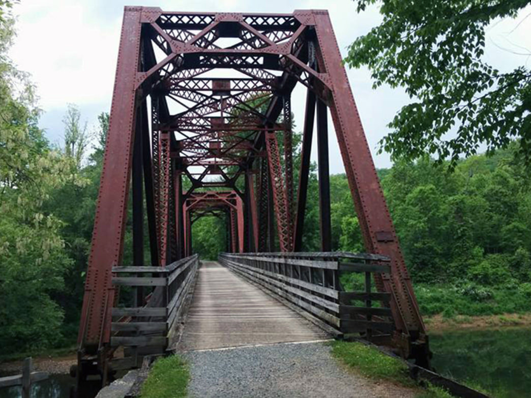 The Virginia Creeper Trail is considered one of the best rail-trail bike routes in the entire nation.