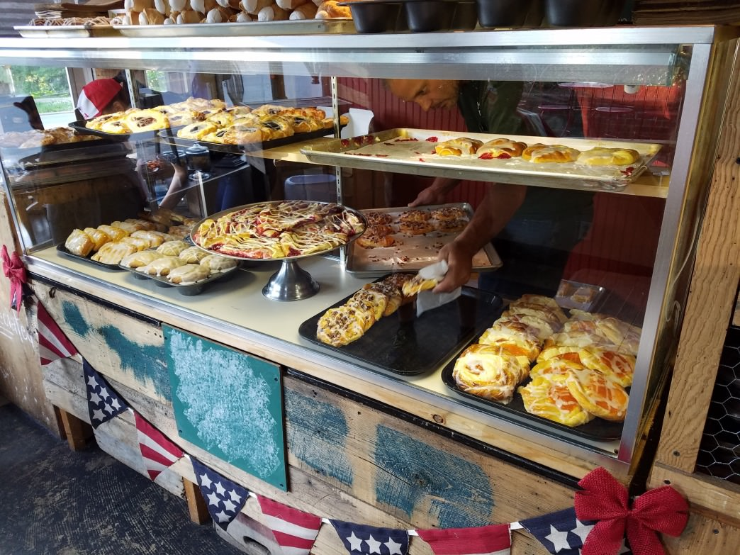 Though small, Kandi's Cakes and Bake Shop always has a dizzying array of pastries ready to go.