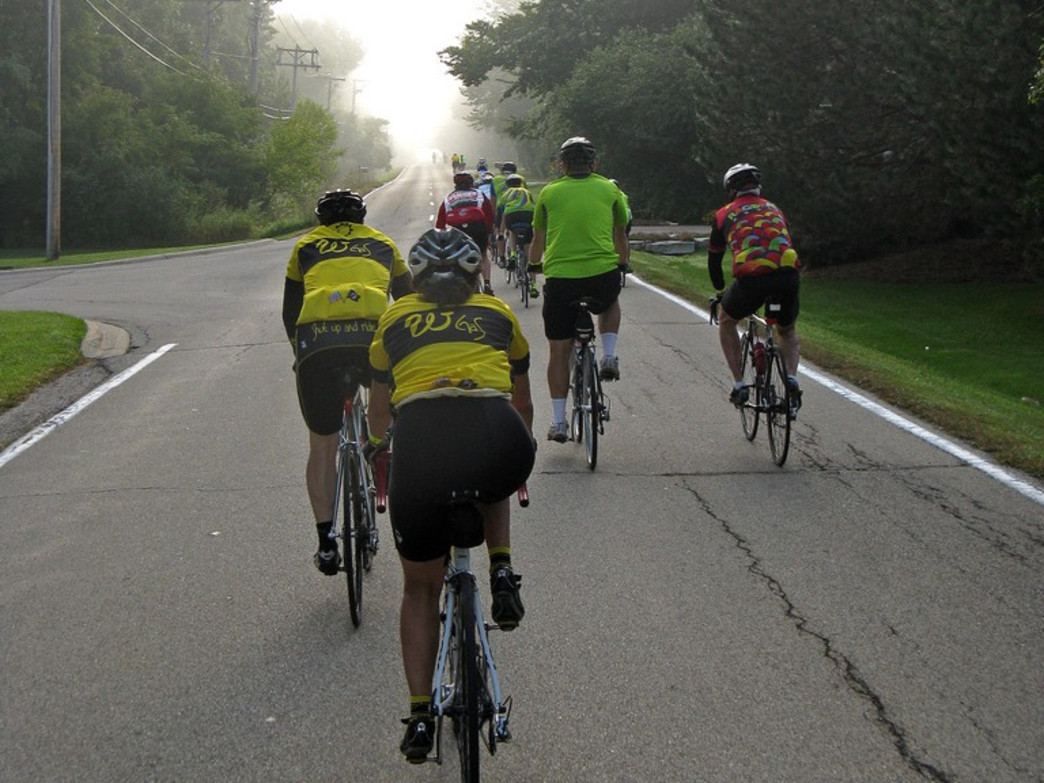 The North Shore Century takes riders from Evanston to Kenosha, Wis.