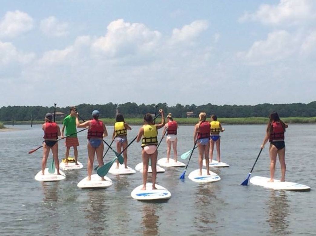 Outside Hilton Head offers SUP and kayak rentals and lessons for water exploration all over the island     Outside Hilton Head