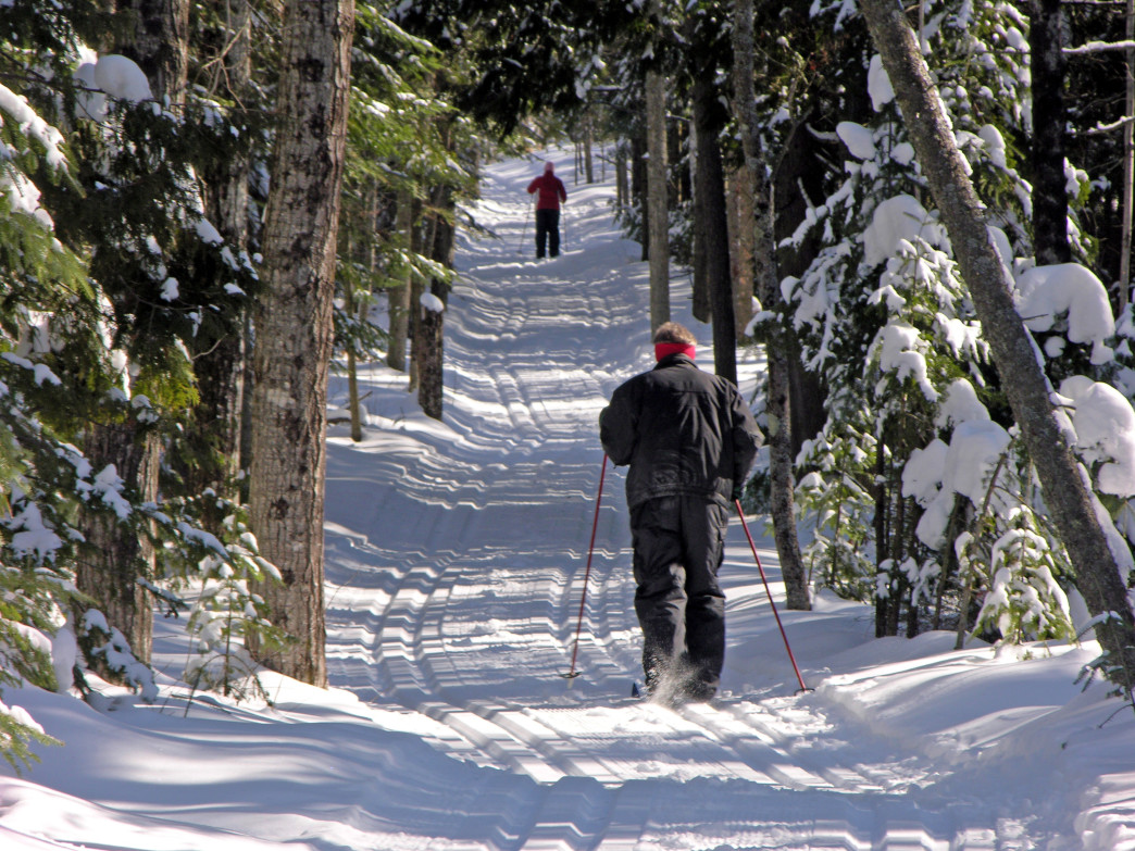 Door County has plenty of groomed trails for cross-country skiers.