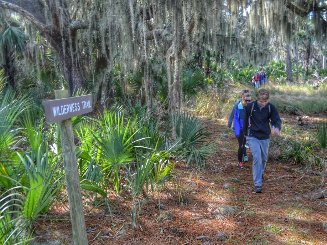 Blackbeard Island features a 5-mile loop hiking trail.