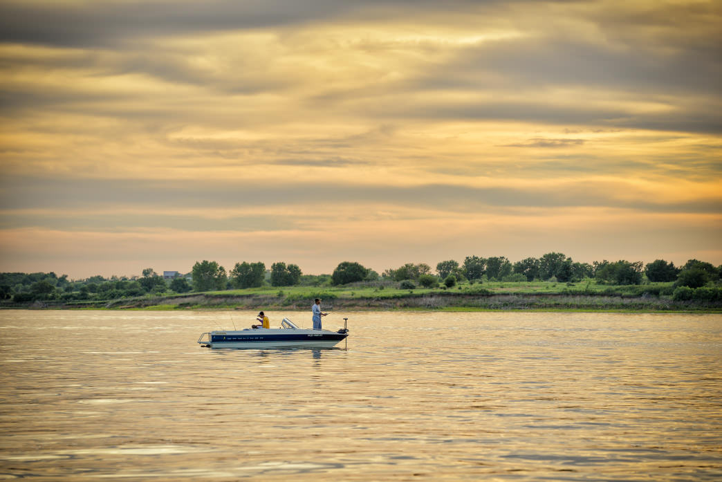 Milford Lake is the place to go for some of the best fishing Kansas has to offer.