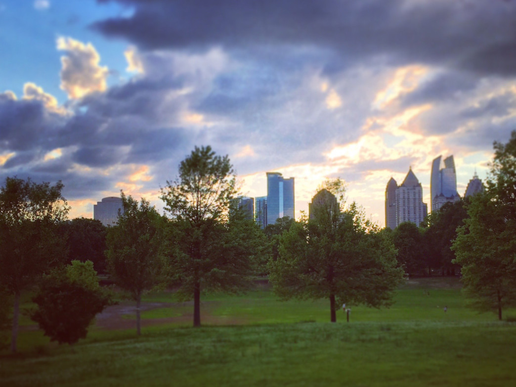 Piedmont Park is just one of your options when looking for a lunchtime hike.