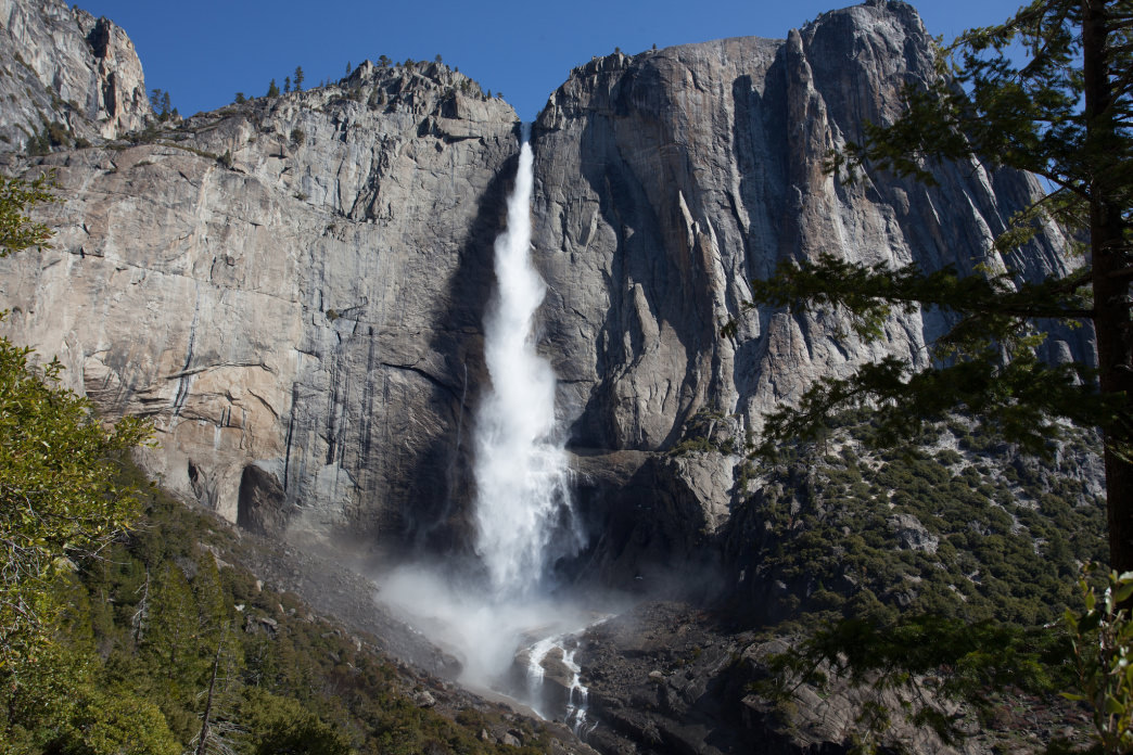 You can't visit Yosemite and not visit the falls!