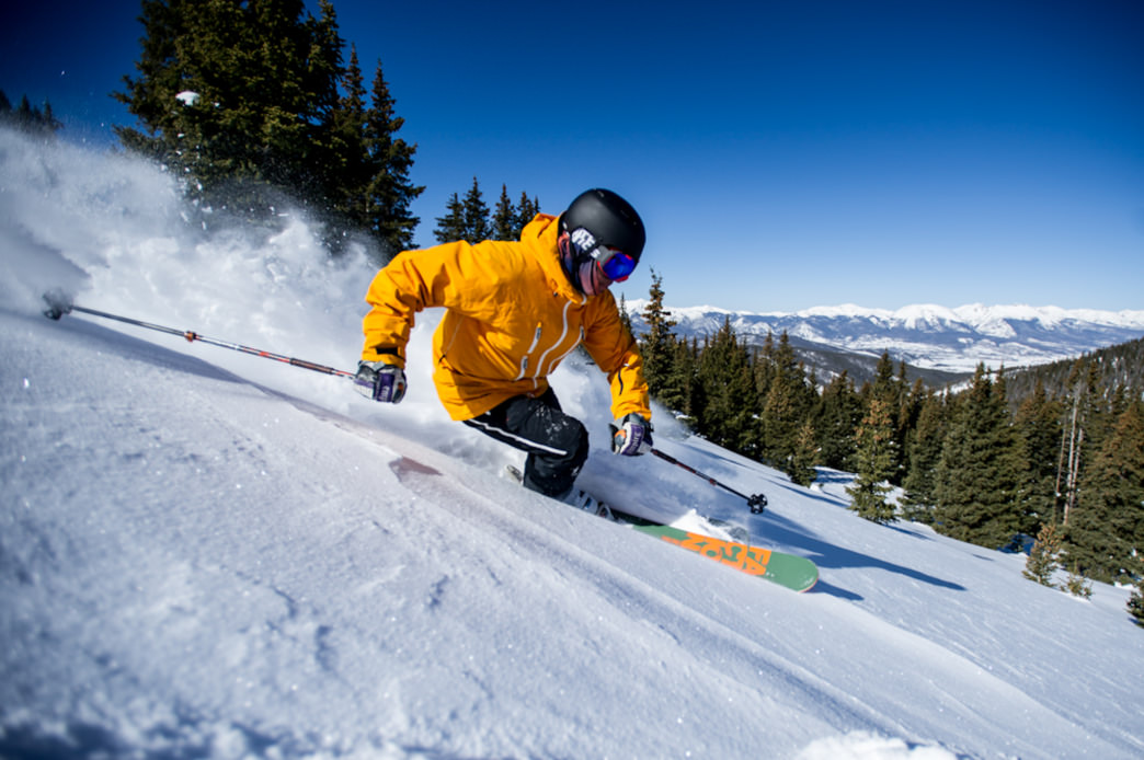 Half of Keystone is designed with beginner and intermediate skiers in mind. © Vail Resorts