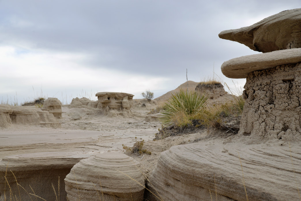 Toadstool Geologic Park is filled with unique natural formations.