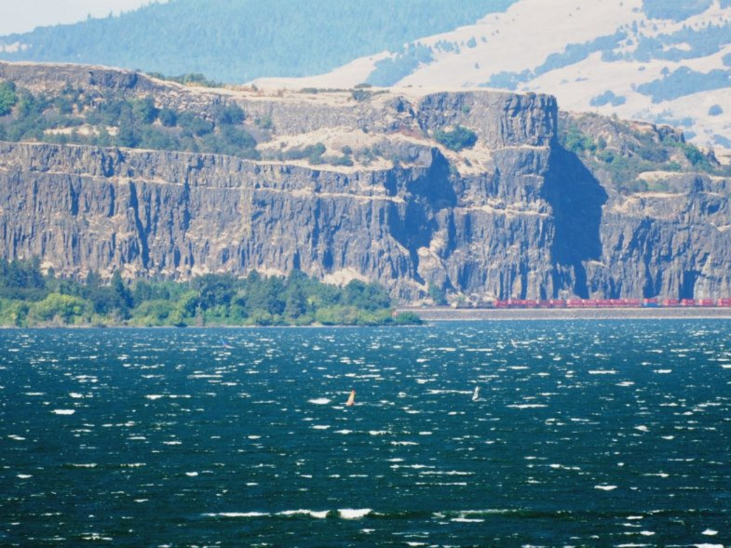 The scenery surrounding Hood River makes it an ideal destination for a wide variety of water sports.