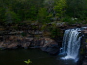 Waterfall at Little River Canyon