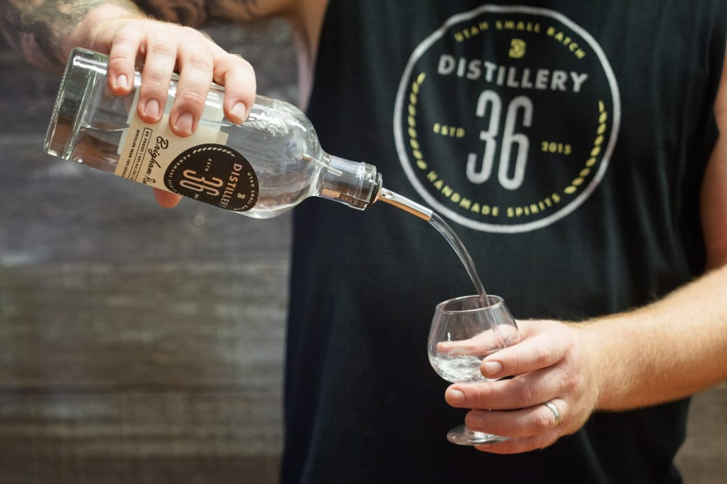 We worked nights and weekends for over five years to build the still and to refine our recipe