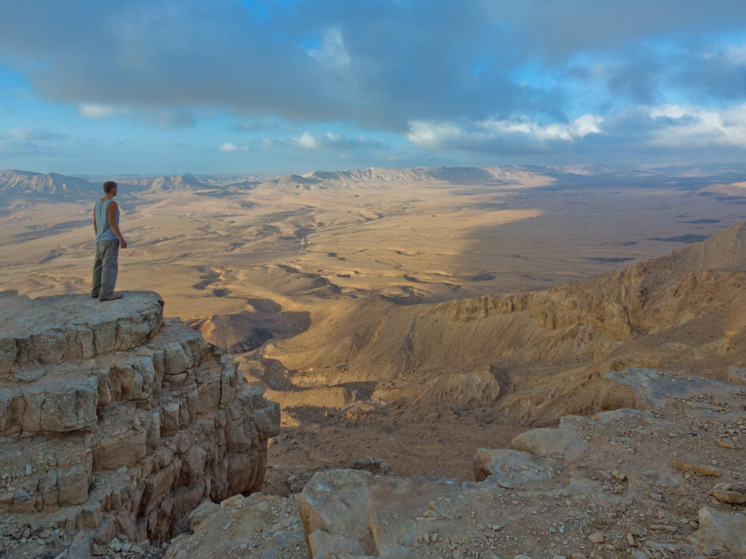Israel's landscape stuns the senses.