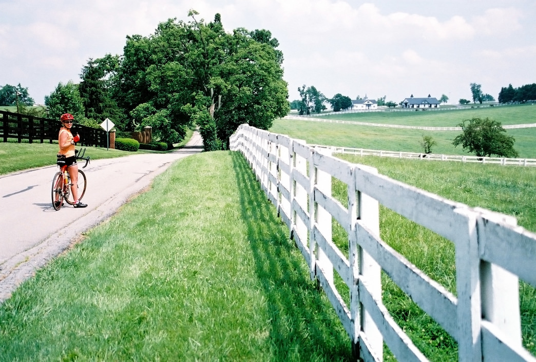 The well-maintained roads through bucolic countryside in Kentucky make a lot of road riders happy.