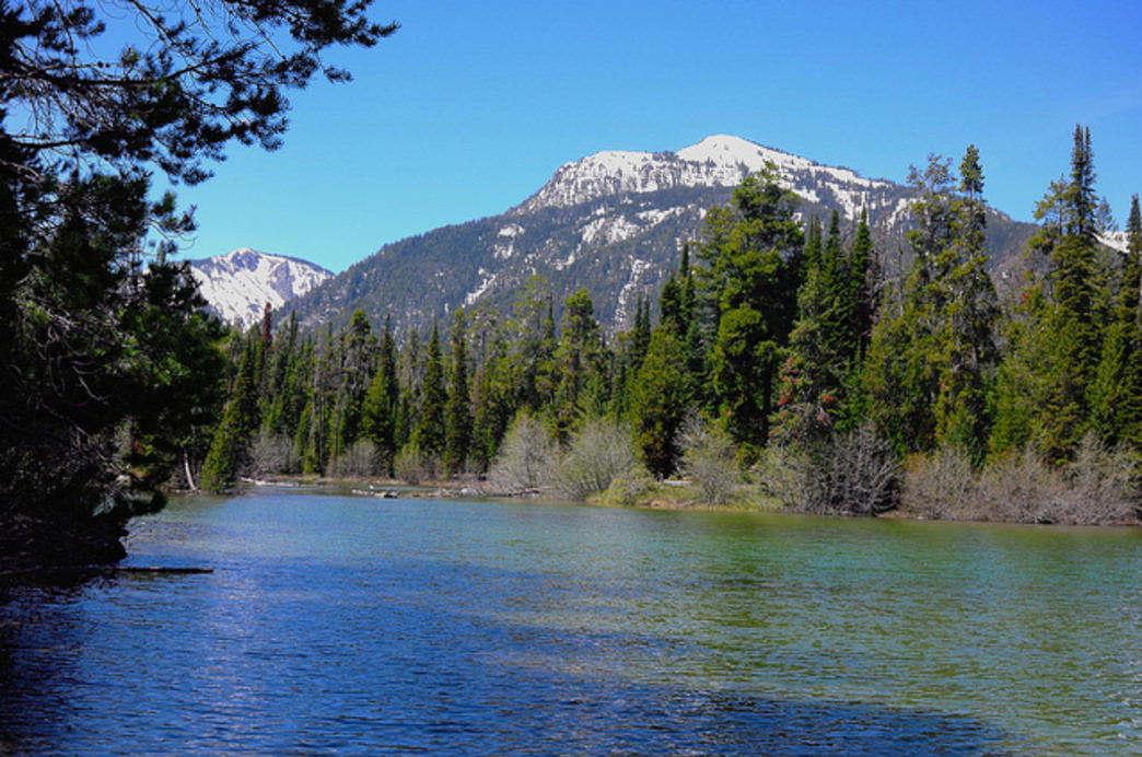 Soak up the scenic views camping along the shores of Phelps Lake in Grand Teton National Park.