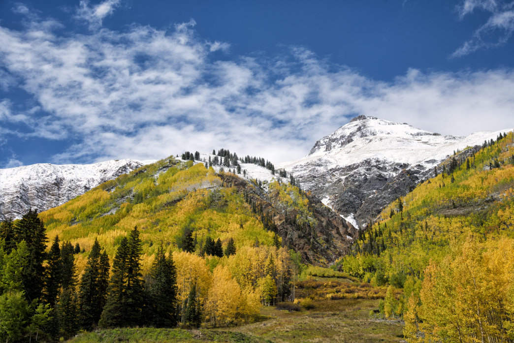 How can seeing scenery like this in Colorado every day not get your creative juices flowing?