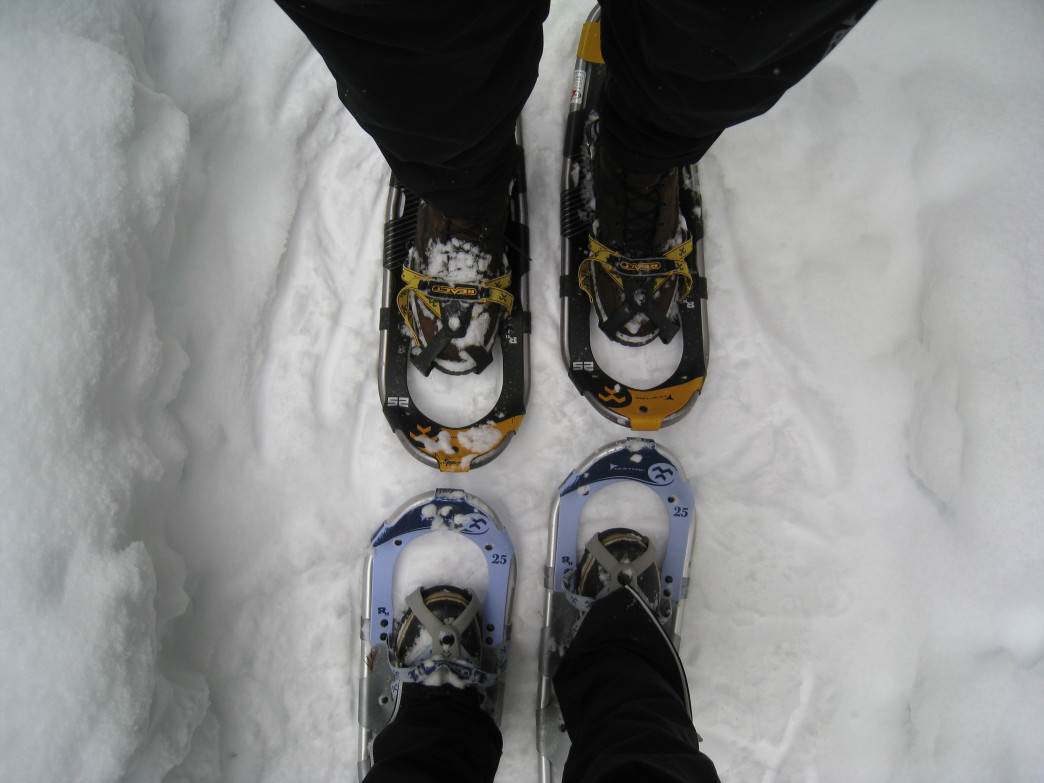 The Twin Cities has plenty of options when it comes to snowshoeing.