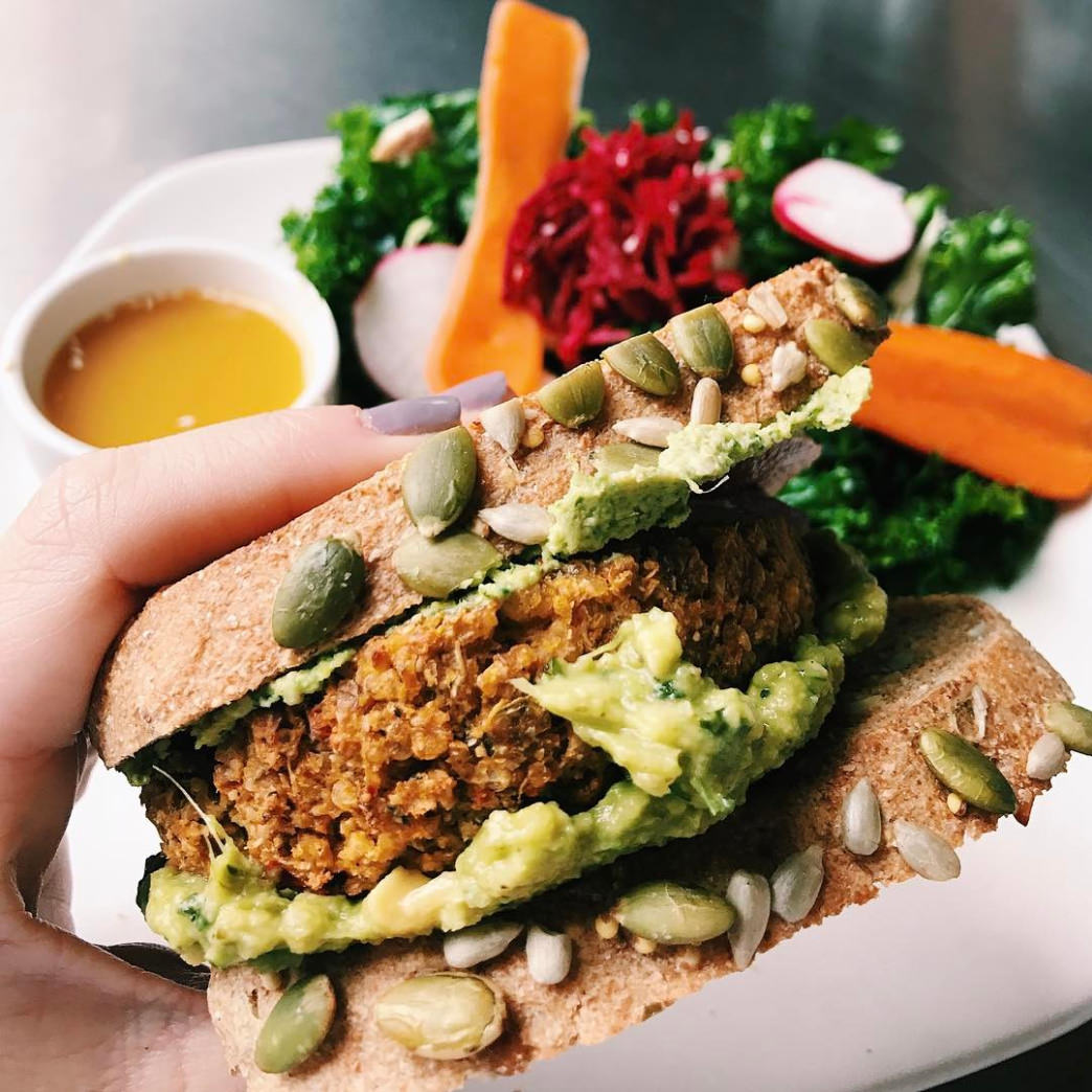 Living Kitchen in Charlotte offers tasty, plant-based meals.