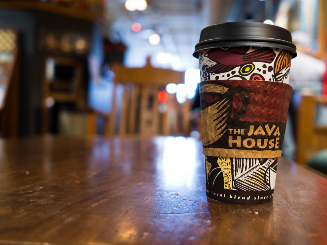 Java House is an Iowa City favorite.