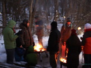 New Year Eve Candlelight Walk at Fort Snelling State Park