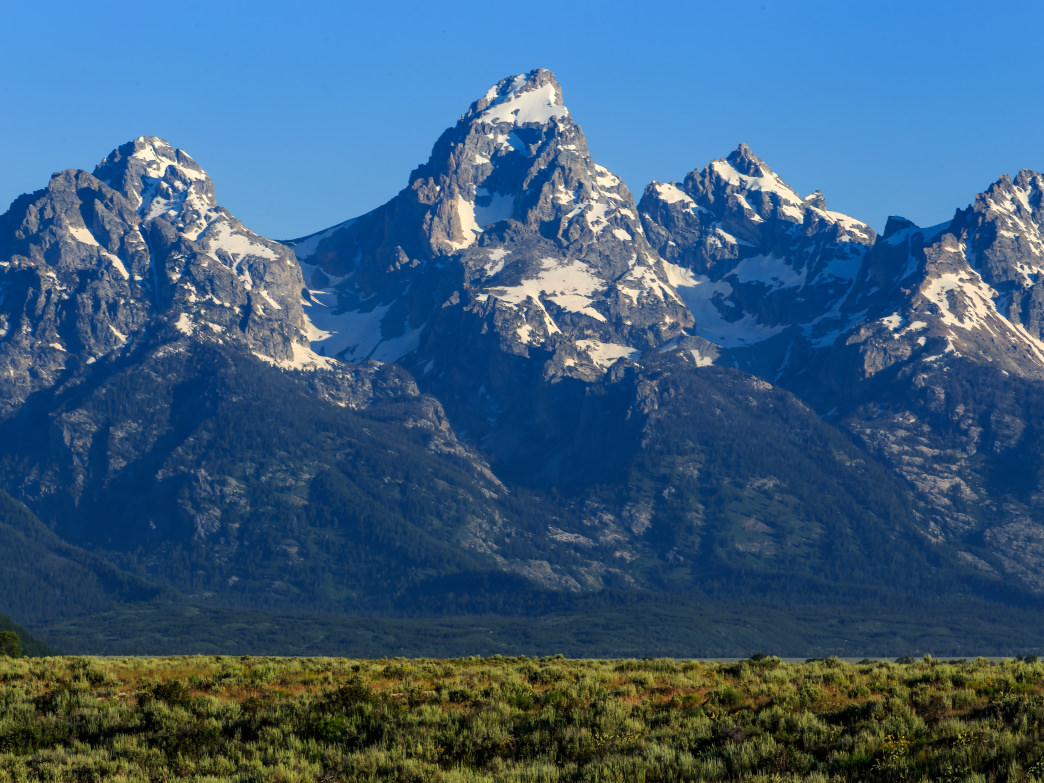 The Grand Teton: a highly respectable New World counterpart to the one-and-only Matterhorn.